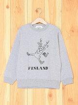 [U]FINLAND REINDEER Illust Kids