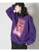 BOWWOW×URBAN RESEARCH 別注 OLD PRINTED SWEAT
