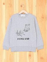 [U]FINLAND PAIR Illust Kids Swea