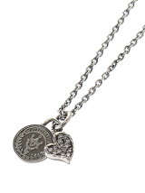 Heart & Coin Necklace