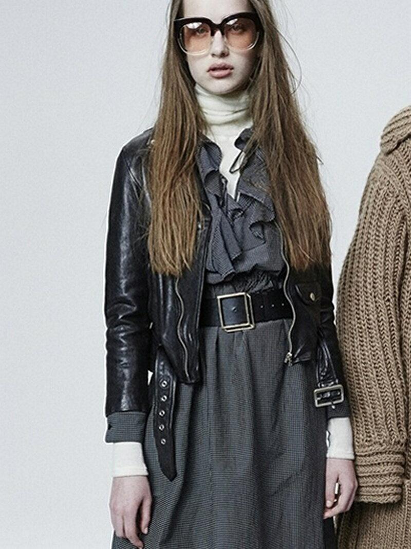 beautiful people shrink leather riders jacket ビューティフル ピープル【送料無料】