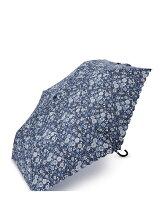 EF73 小花柄スカラップ折りたたみ傘(雨傘)