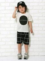 〇□△×半袖Tシャツ/キッズ/夏