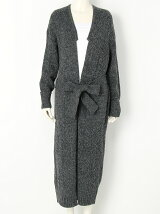 SHETLAND WOOL long cardigan