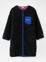 【Champion】WOMEN BOA FLEECE LONG JACKET CW-S612