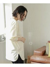 studio CLIP レーヤードロンT スタディオクリップ カットソー Tシャツ ベージュ ホワイト グレー