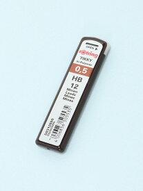 rotring 0.5mmペンシル替え芯 HB ロットリング 生活雑貨