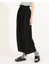 maturely / Crepe Volume Reversible Flare Pants