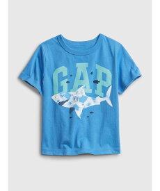 【SALE/25%OFF】GAP (K)オーガニック ミックス&マッチ Gapロゴtシャツ (幼児) ギャップ カットソー キッズカットソー ブルー グレー ホワイト
