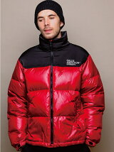GALLISADDICTION/GA STAND DOWN JACKET