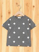 4柄総柄半袖Tシャツ/キッズ/夏