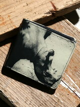 Print Leather Wallet