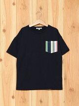 ビーミング by ビームス / ストライプ ポケット BIG Tシャツ BEAMS