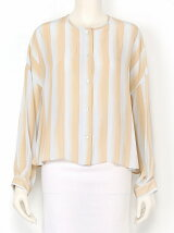 WAVY STRIPES PRINT Blouse