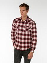 クラシックウェスタンチェックシャツ-レッド/Elm RED DAHILA Plaid