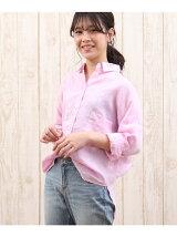 フレンチリネンワイドシャツ【CLASSY7月号掲載】
