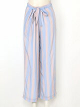 WAVY STRIPES PRINT Pants