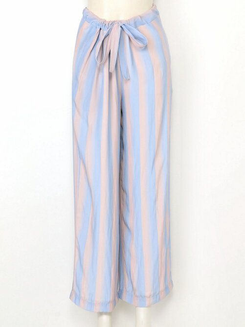 WAVY STRIPES PRINT Pants