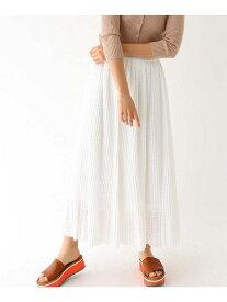 【SALE/60%OFF】aquagirl ラッセルレースロングスカート アクアガール スカート ロングスカート ホワイト ブラック ブラウン【送料無料】