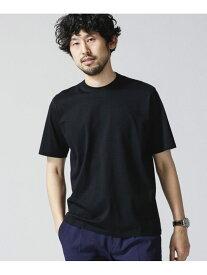【SALE/20%OFF】nano・universe ジャケT ショートスリーブ ナノユニバース カットソー Tシャツ ブラック グレー ホワイト ブルー