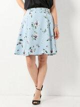 ●JOC Gardeniaプリント タックスカート / 花柄