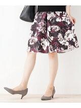 【WEB限定サイズ】旬の花柄スカート