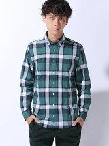 (M)NFコットンチェックシャツ