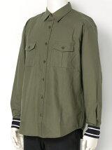 Sailor Cuff Military Shirt