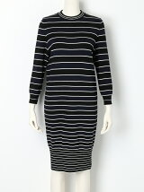 LENPUR SILK STRIPE Dress