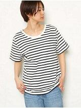ANTI SWEAT 2WAY バック Vネック Tシャツ