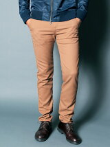 T/VISCOSE STRETCH SKINNY CHINO PANTS