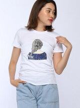girlバックスタイルTシャツ