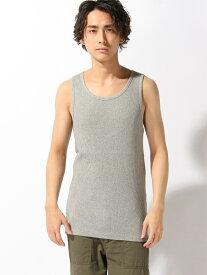 【SALE/40%OFF】nudie jeans nudie jeans/(M)Axel_リブタンクトップ ヌーディージーンズ / フランクリンアンドマーシャル カットソー タンクトップ ネイビー