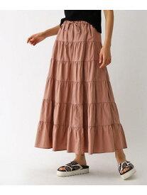 【SALE/72%OFF】aquagirl コットンティアードロングスカート アクアガール スカート ロングスカート ブラウン レッド ネイビー