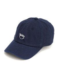 Dickies DICKIES/(U)DK LICKING SMILE LOW CAP ハンドサイン 帽子/ヘア小物 キャップ ネイビー ブラック ベージュ ホワイト