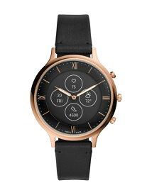 FOSSIL Q CHARTER HYBRID SMARTWATCH HR フォッシル ファッショングッズ 腕時計 ブラック【送料無料】