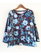 Ikat FLOWER TOP