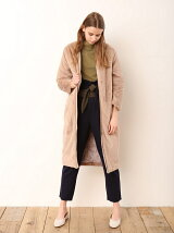 ECO VELVET FUR COAT