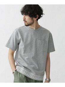 スウィッチングヘムTシャツ