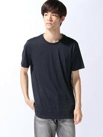 【SALE/74%OFF】BENETTON (UNITED COLORS OF BENETTON) (M)無地半袖Tシャツ・カットソー ベネトン(ユナイテッド カラーズ オブ ベネトン) カットソー Tシャツ ネイビー カーキ ブラック ホワイト
