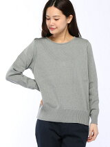 [W]Back Fastener Knit Pullover