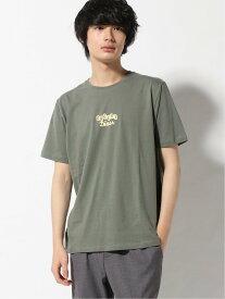 WEGO WEGO/(M)アメリカンロゴプリントT(S) ウィゴー カットソー Tシャツ カーキ グレー