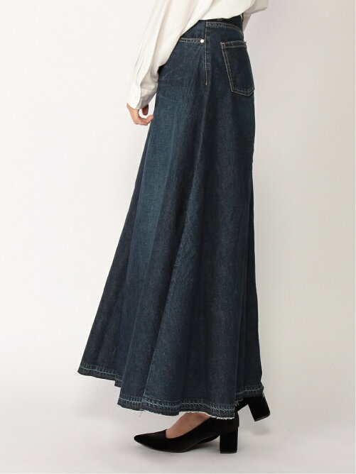 Flare Denim Pants