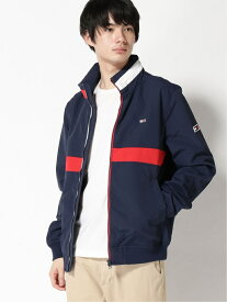 【SALE/40%OFF】TOMMY JEANS (M)TOMMY HILFIGER(トミーヒルフィガー) カラーブロックボンバージャケット トミーヒルフィガー コート/ジャケット コート/ジャケットその他 ネイビー ホワイト【送料無料】