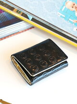 Ray BEAMS / スマイル 三つ折り財布 レイ ビームス プレゼント ギフト ミニ財布 ミニウォレット