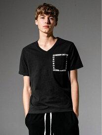 【SALE/30%OFF】SHIFFON NUMBER (N)INE DENIM/NDT-903 シフォン カットソー Tシャツ ブラック ネイビー ホワイト【RBA_E】