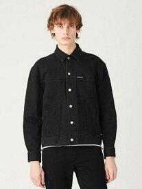 Calvin Klein Jeans 【カルバン クライン ジーンズ】 メンズ デニム ジャケット カルバン・クライン コート/ジャケット デニムジャケット ブラック【送料無料】
