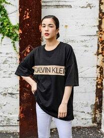 Calvin Klein Underwear CALVIN KLEIN 【カルバン クライン アンダーウェア】 メンズ ロゴ ロゴ Tee カットソー 半袖 Tシャツ ステートメント グラフィック ラウンジ T シャツ NM1632 カルバン【送料無料】