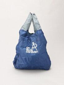 CHICO BAG CHICO BAG/(U)CHICO BAG GSC BAG2 (709783) ゴースローキャラバン バッグ エコバッグ/サブバッグ ネイビー パープル