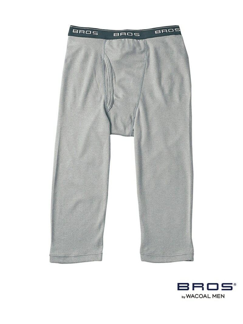 BROS BROS ひざ下丈パンツ プレミアムサーモ ブロス インナー/ナイトウェア